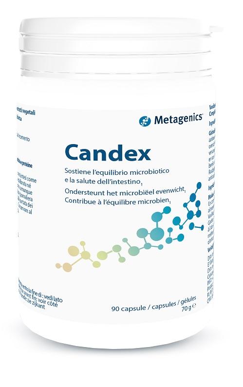Metagenics Candex 90 cps per il riequilibrio dell'ecosistema intestinale
