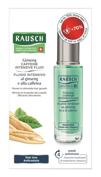Rausch Ag Kreuzlingen Rausch Fluido Intensivo Ginseng E Caffeina 30 Ml