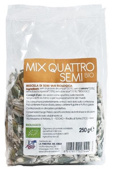 La Finestra Sul Cielo Mix 4 Semi Bio 250 G