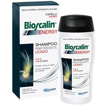 Giuliani Bioscalin Energy Shampoo 200 Ml Bollino Prezzo Speciale