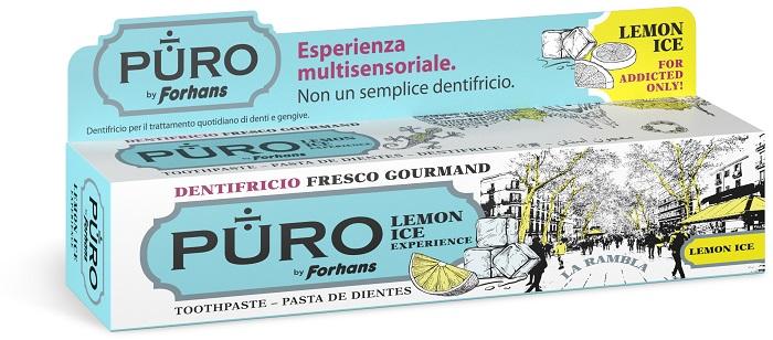 Uragme Puro Dentifricio Lemon Ice 75 Ml