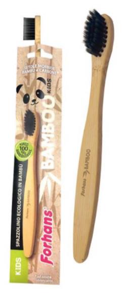 Uragme Spazzolino Ecologico Forhans Bamboo Kids