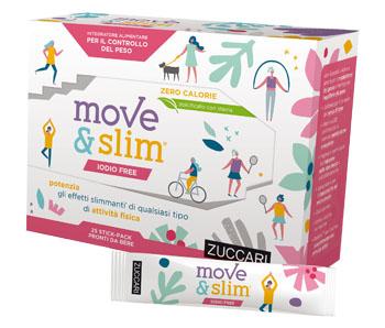 Zuccari Move&slim Iodio Free Sciroppo 25 Stickpack 10 Ml