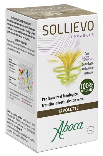 Aboca Linea Intestino Sano Sollievo Advanced Integratore Alimentare 45 Tavolette
