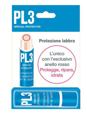 Pl3 Stick Special Protector Labbra Con Astuccio