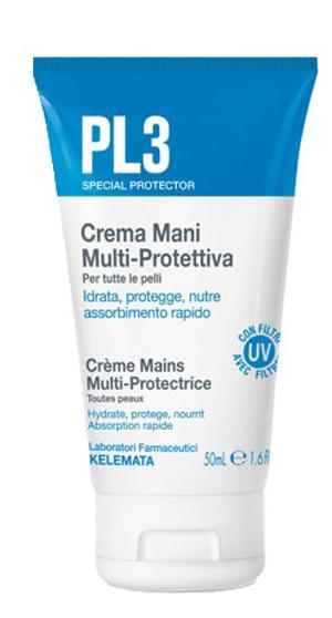 Pl3 Crema Mani Multi Protettiva 50 Ml