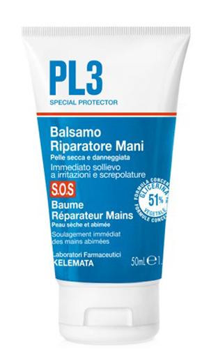 Kelemata Pl3 Balsamo Riparatore Mani Sos 50 Ml