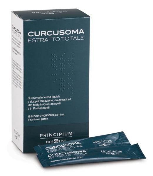 Principium Curcusoma Estratto Totale 30 Bustine 10 Ml