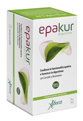 Aboca Epakur Digestive Tisana 20 Filtri