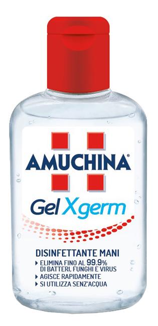 Amuchina Gel X germ Disinfettante Mani confezione da 80 ml