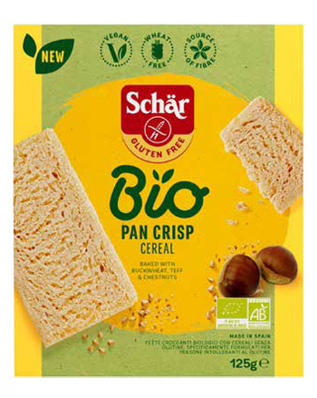 Dr.schar Schar Bio Pan Crisp Cereal 125 G