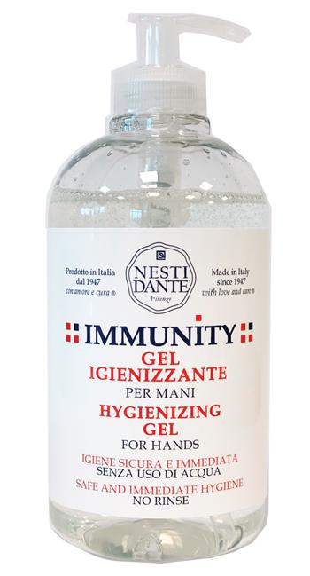 Nesti Dante Immunity Gel Igienizzante Mani Alcoolico 500 Ml