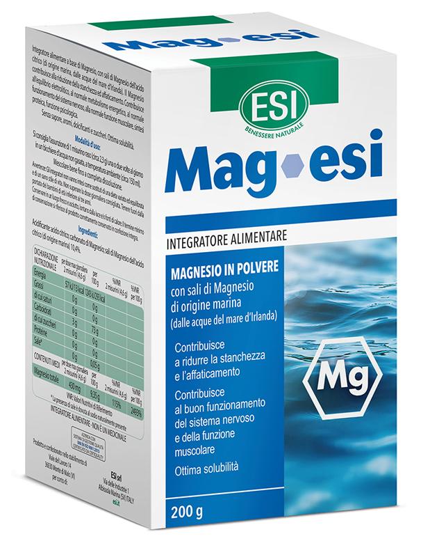 Esi Mag Polvere 200 G Magnesio