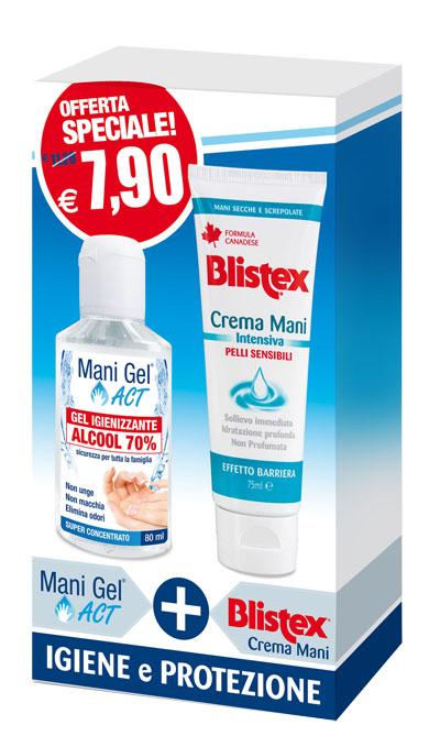 Consulteam Promo Mani Sane Crema blistex gel igienizzante ACT