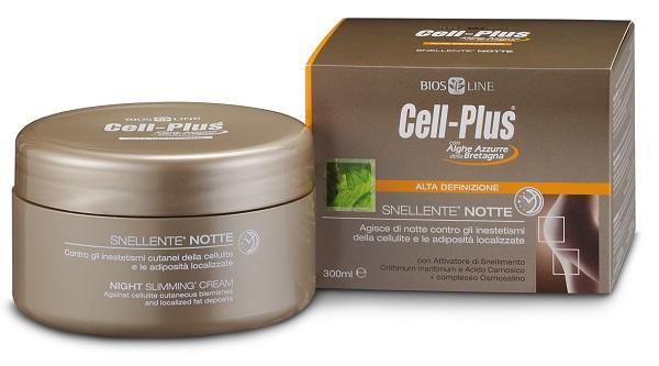 Bios Line Cell Plus Aqua Alta Definizione Snellente Notte 300 Ml
