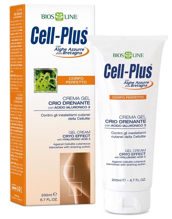 Bios Line Cell Plus Crema Gel Crio Drenante 200 Ml