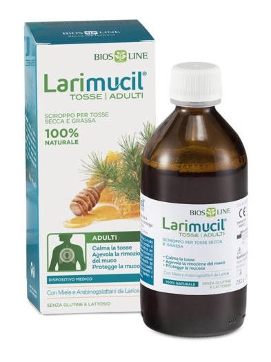 Bios Line Larimucil Tosse Tosse Adulti Sciroppo Ce 0476v 230 G 175 Ml