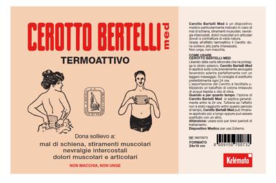 Kelemata Bertelli Cerotto Med Grande 24 X 16 Cm