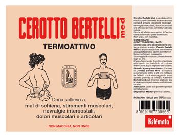 Kelemata Bertelli Cerotto Med Medio 16 X 12,5 Cm