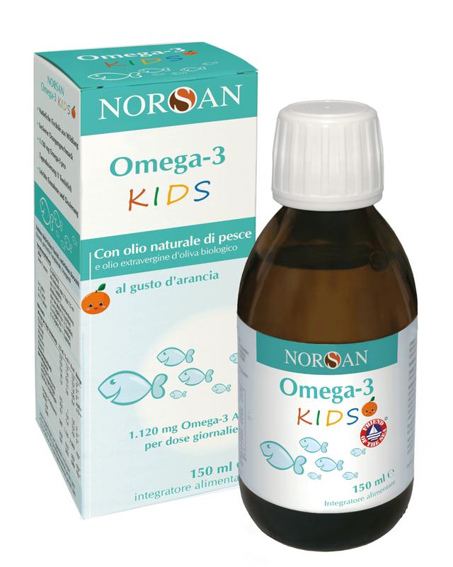 Norsan Kids Olio ricco di Vitamine e Antiossidanti per Bambini 150 mL