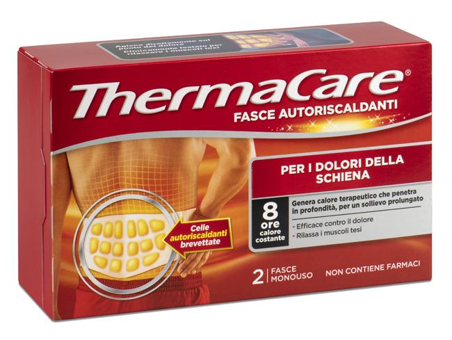 Angelini Fascia Autoriscaldante A Calore Terapeutico Thermacare Schiena 2 Pezzi