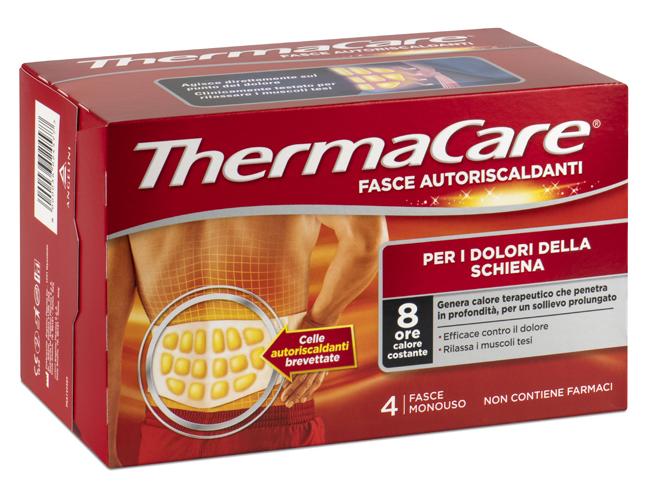 Thermacare Fascia Autoriscaldante A Calore Terapeutico Schiena 4 Pezzi