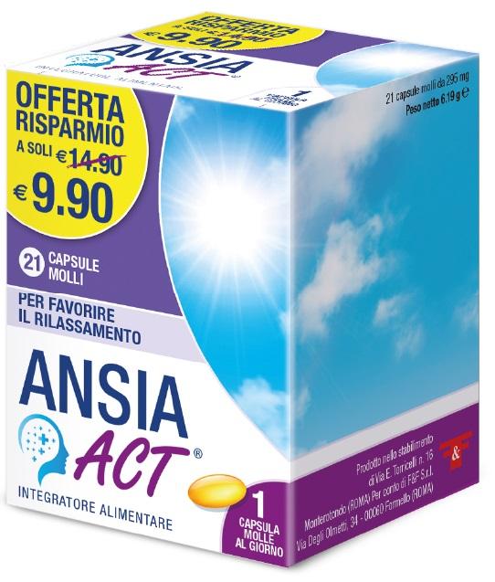 F&f Ansia Act 21 Capsule