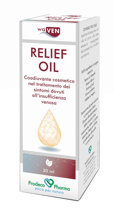 Prodeco Waven Relief Oil per trattamento Insufficienza Venosa 30 mL