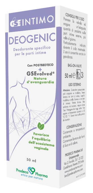 GSE Linea Intimo Deogenic Deodorante Intimo 50 mL