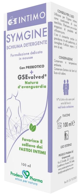 Prodeco Pharma Gse Intimo Symgine Schiuma Detergente 100 Ml
