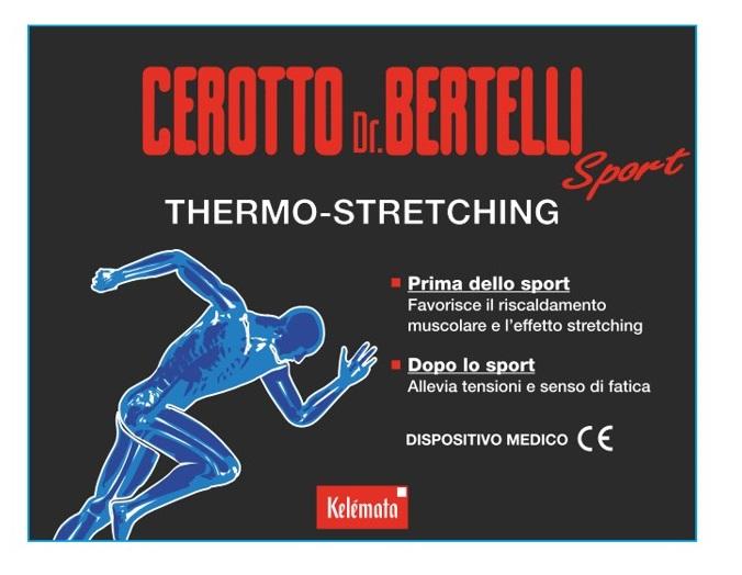 Kelemata Bertelli Cerotto Sport 1 Pezzo