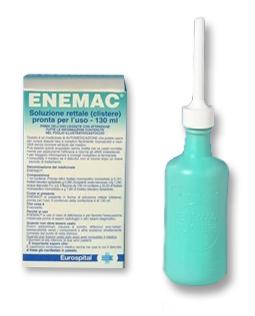 Enemac 16,1 G/100 Ml + 6 G/100 Ml Soluzione Rettale 1 Contenitore Monodose 130 Ml