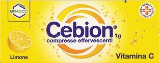Cebion 1 G Compresse Effervescenti 10 Compresse Effervescenti Al Limone