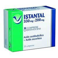 Istantal 330 Mg + 200 Mg Compresse Effervescenti 20 Compresse