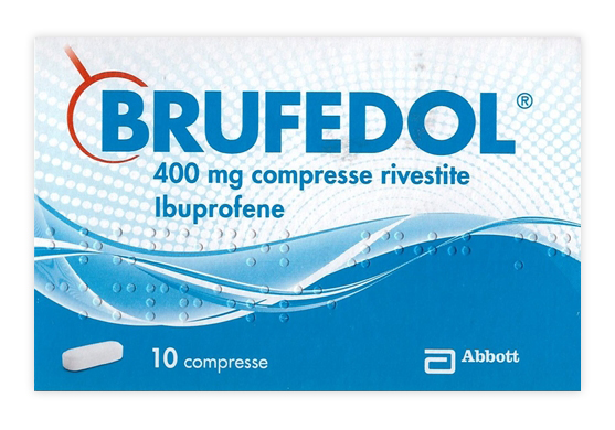 Brufedol 400 Mg Compresse Rivestite 10 Compresse In Blister
