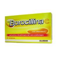 Neoborocillina C 1,2 Mg + 70 Mg Pastiglie Con Vitamina C 20 Pastiglie
