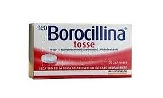 Neoborocillina Tosse 10 Mg 1 2 Mg Pastiglie 20 Pastiglie In Blister Pvc Pe Pvdc Al