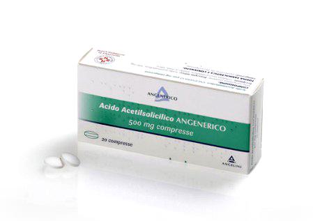 Acido Acetils Ang 500 Mg Compresse 20 Compresse