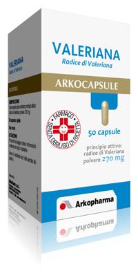 Arkocapsule Valeriana 270 Mg Capsule Rigide 50 Capsule