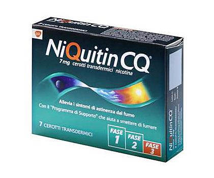 Niquitin 7 Mg/24 H Cerotti Transdermici 7 Cerotti In Bustine