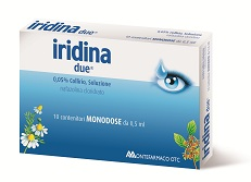 Iridina Due 0,05% Collirio, Soluzione 10 Contenitori Monodose Da 0,5 Ml