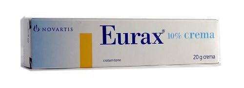 Eurax 10 Crema 1 Tubo 20 G