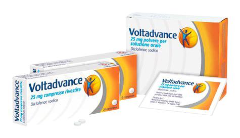 Voltadvance 25 Mg Polvere Per Soluzione Orale 20 Bustine