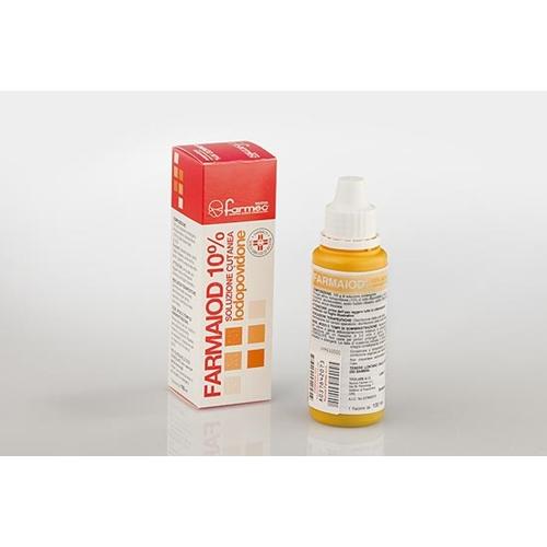 Farmaiod 10% Soluzione Cutanea Flacone Da 100 Ml