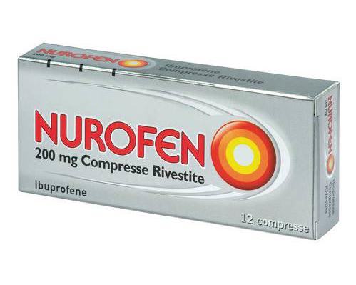 Nurofen 200 Mg Compresse Rivestite 12 Compresse