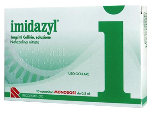 Imidazyl 1 Mg/Ml Collirio Soluzione 10 Contenitori Monodose 0,5 Ml