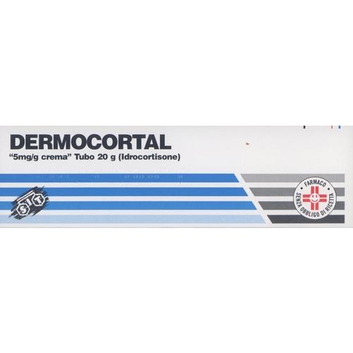 Dermocortal 5 Mg G Crema Tubo 20 G