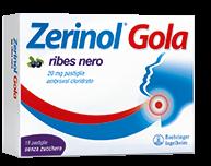 Zerinol Gola Ribes 20 Mg Pastiglie 18 Pastiglie In Blister Alu/Alu