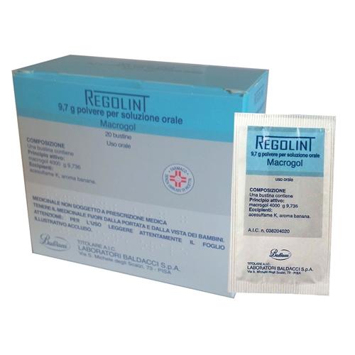 Regolint 9,7 G Polvere Per Soluzione Orale 20 Bustine