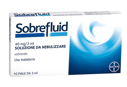 Sobrefluid 40 Mg/ 3 Ml Soluzione Da Nebulizzare 10 Fiale Da 3 Ml
